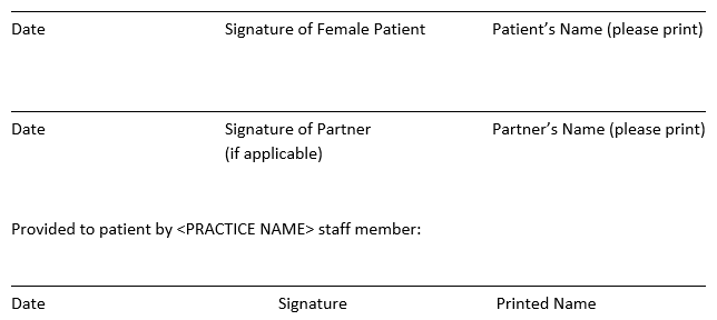 Sart Example 2 Patient Consent For Treatment During The Covid 19 Pandemic