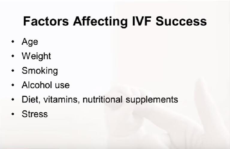 Preparing for In Vitro Fertilization (IVF): Lifestyle Factors
